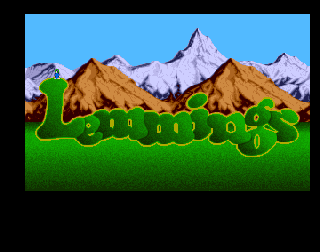 Screenshot Thumbnail / Media File 1 for Lemmings (1994)(Psygnosis)[!][CD32-CDTV]
